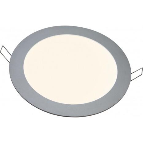 LED Panel, Ø 260mm, warmweiß