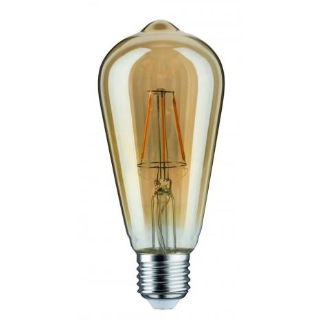 LED Rustika (ST64) 4W E27 230V Gold 1700K