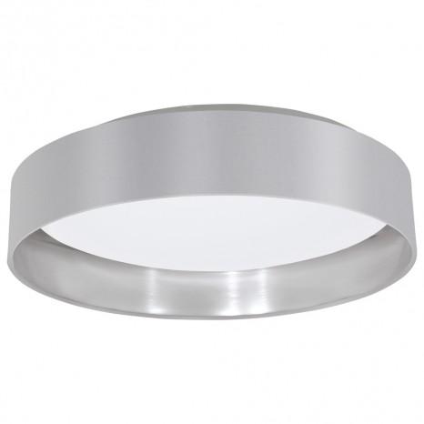Maserlo, LED, Ø 40,5 cm, Grau-Silber