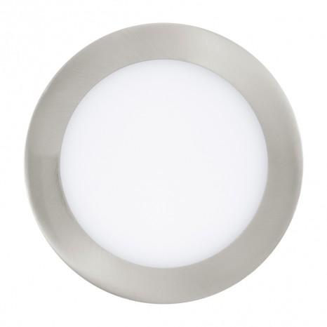 Fueva 1, LED, Ø 17 cm, 3000K, nickel-matt