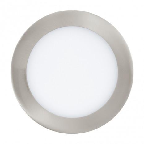 Fueva 1, LED, IP20, Ø 17cm, 4000K, nickel-matt