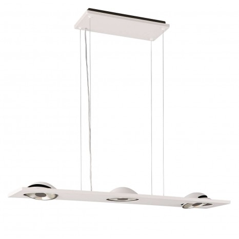 Trelome, LED, 3-flammig, schwenkbar, weiß