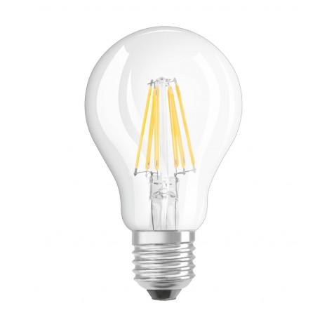 LED RETROFIT DIM A60 7W E27 klar 806 LM BLISTER