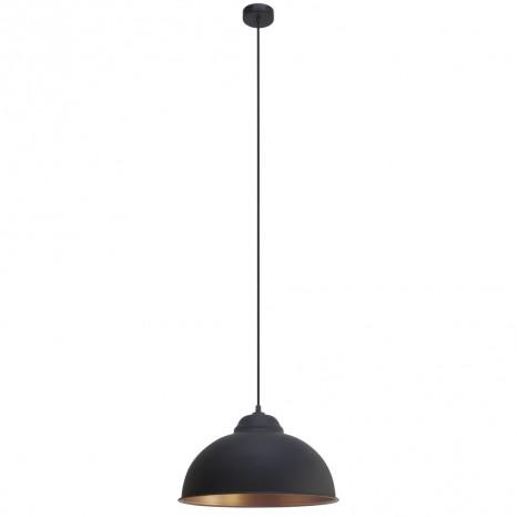 Truro 2, Ø 37 cm, schwarz-kupferfarben