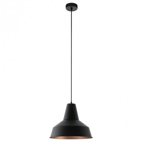 Somerton, Ø 35 cm, schwarz-kupfer