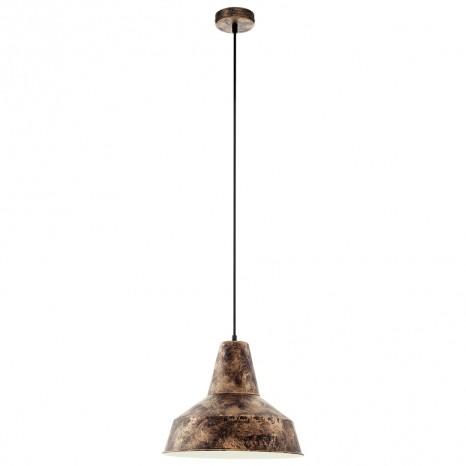 EGLO Somerton, Ø 35 cm, kupferfarben-antik