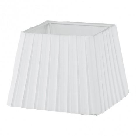 1+1 Vintage, Plissee, 15x 15 cm, E14, weiß