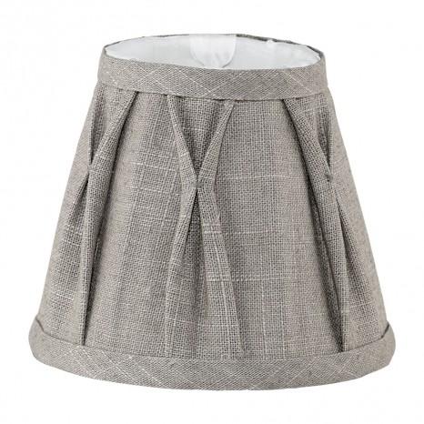 1+1 Vintage, Leinen, Ø 15,5 cm, E14, braun
