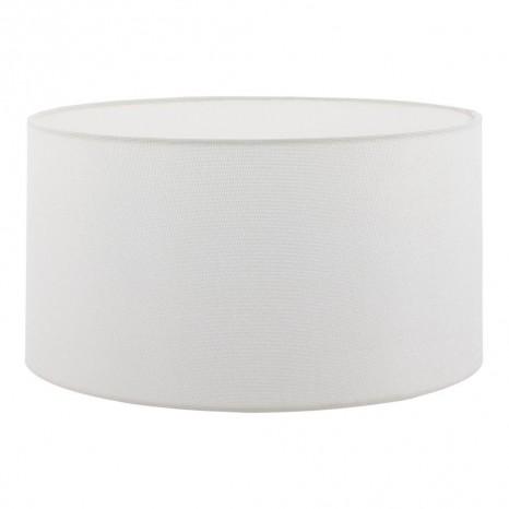 1+1 Vintage, Leinen, Ø 50 cm, E27, weiß