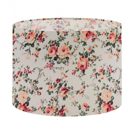 1+1 Vintage, Ø 25 cm, E27-E14, Blumendekor