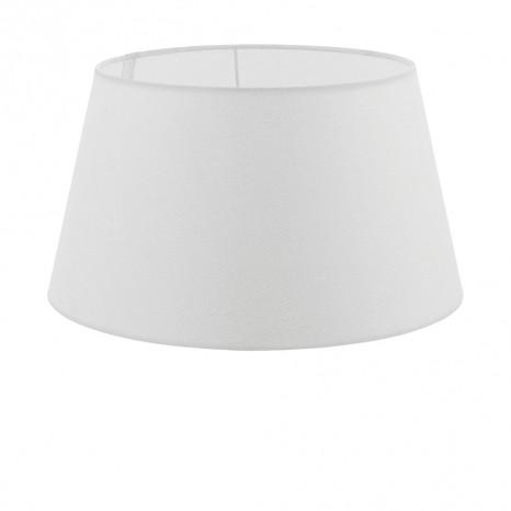 1+1 Vintage, Leinen, Ø 40 cm, E27, Weiß
