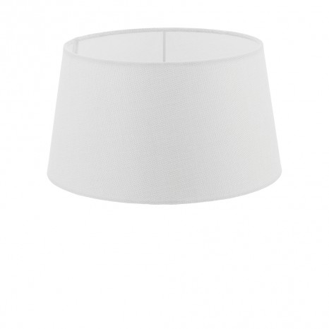 1+1 Vintage, Leinen, Ø 30 cm, E27, weiß
