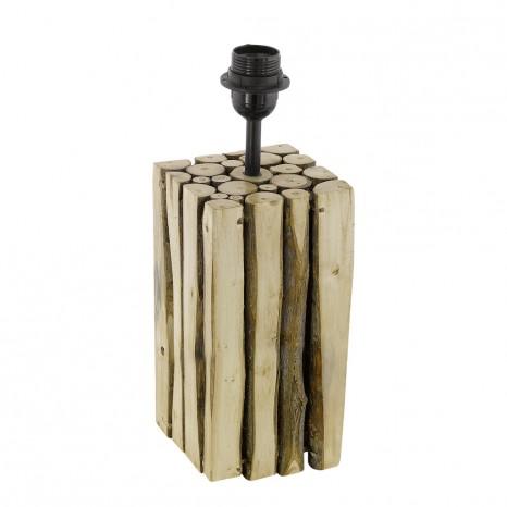Ribadeo, Holz, Höhe 32,5 cm, E27