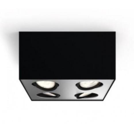 Box, 4-flammig, 2000lm, schwarz