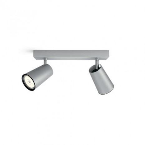 Paisley, 2-flammig, 2x10W, Aluminium, exklusive Leuchtmittel