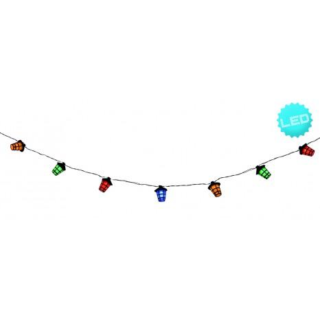 LED-Lichterkette Laterne