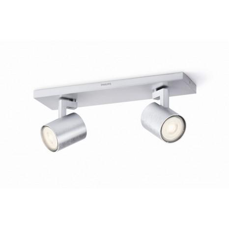 Runner LED, 2-flammig, aluminium