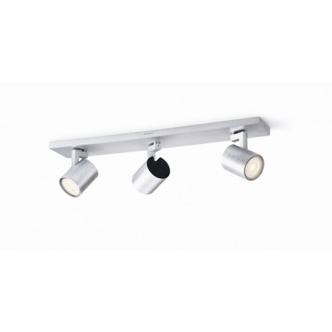 Runner LED, 3-flammig, aluminium