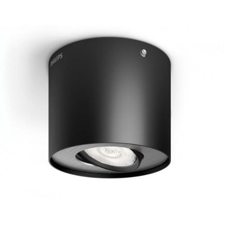 Phase, LED, 1-flammig, schwarz