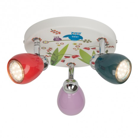 Birds, LED, 3-flammig