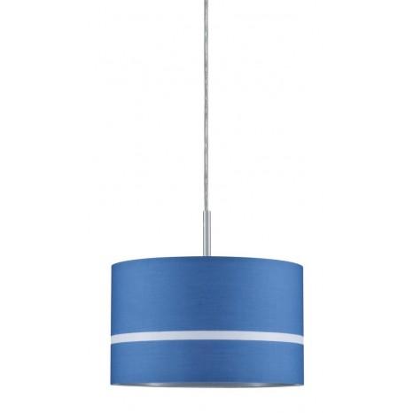 DecoSystems Schirm Tessa 50W Blau Stoff