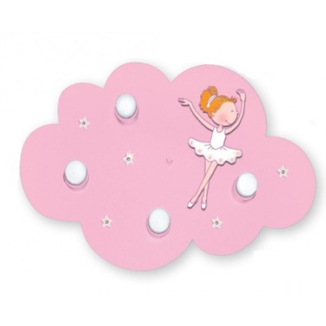 Wolke Ballerina mit Swarovski-Steinen