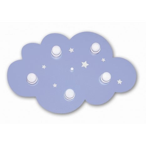 Waldi Leuchten Wolke hellblau