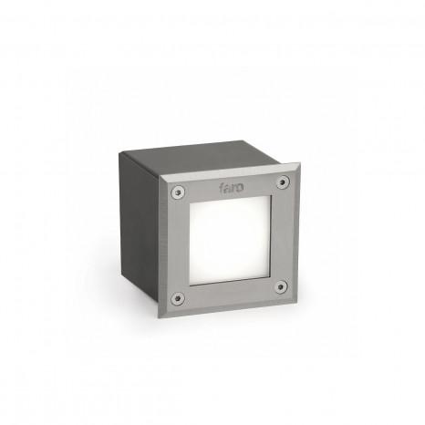 Square 18 LED, 3W, 3000K, IP67
