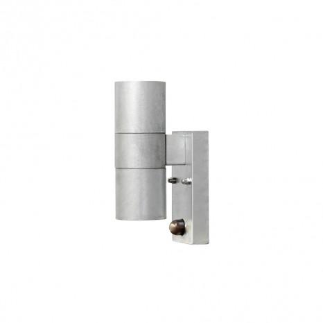 Modena Wandleuchte, Sensor, galvanisierter Stahl