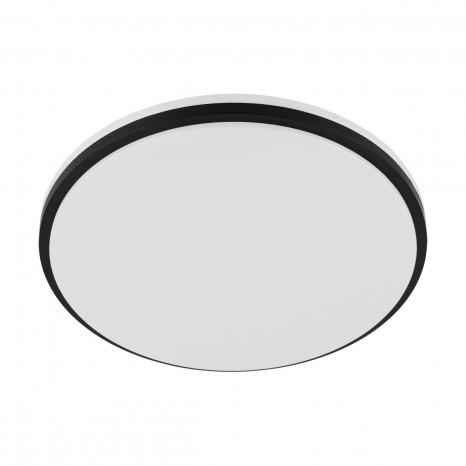 Marunella Ø 34cm weiss schwarz rund