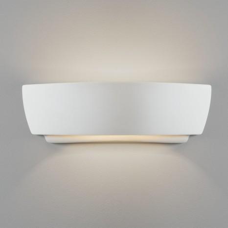 Kyo Innenwandleuchte, Keramik weiß, 60w E27, IP20, Geeignet