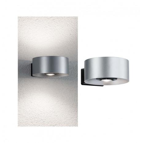 Cone, LED, IP44, 2-flammig, silber