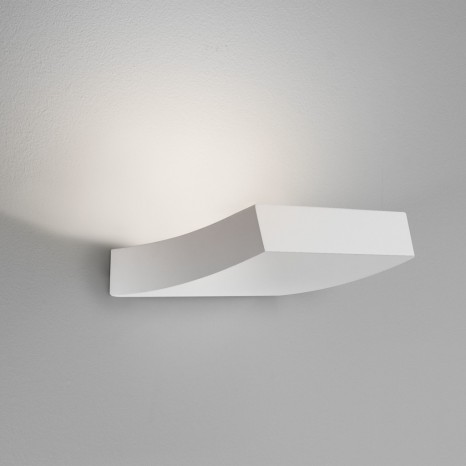 Naxos LED, 1x 3W LED, weißer Gips, Länge 1