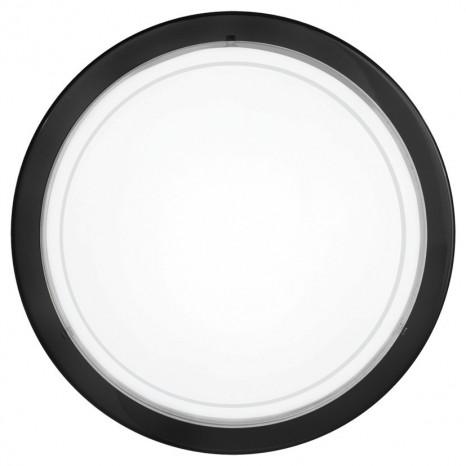 Planet 1, rund, schwarz