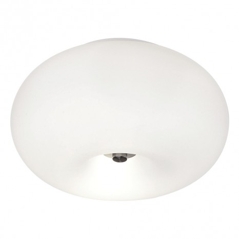 Optica, Ø 28 cm, Höhe 16 cm, Weiß