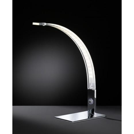 Luz, Höhe 40 cm, 3-Stufen-Dimmer, inkl LED, Chrom