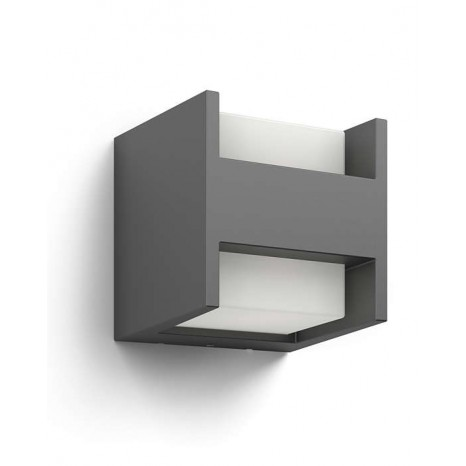 Arbour, LED, Höhe 13 cm, anthrazit