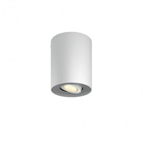 Philips Hue Pillar 1-er Spot, Weiß, inkl. Dimmschalter