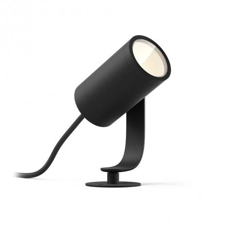 Lily, LED, Schwarz 1flg. WACA, 640lm, Erweiterung, IP65
