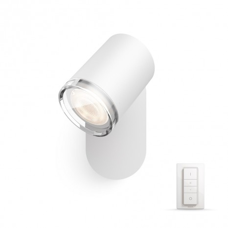 Adore, LED, Weiß, 1flg. White Ambiance, 250lm, inkl. Dimmschalter