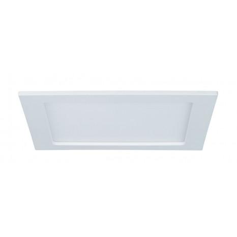 Einbaupanel, LED, IP44, 18W, eckig, weiß