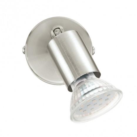 Buzz-LED, 1-flammig, nickel-matt/chromfarben
