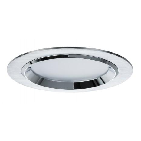 Premium EBL Set Dot rund LED 3x8W 36VA 230V/700mA 150mm Alu geb Alu/Glas