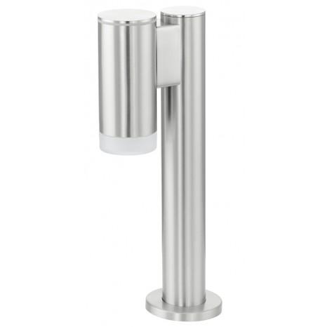 Riga-LED, Höhe 35,5 cm, IP44, metallisch