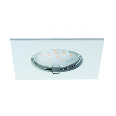 Coin klar eckig starr LED 3x6,8W 2700K 230V Weiß
