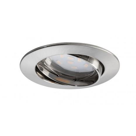 Coin dimmbar klar schwenkbar LED 3x7W 2700K Eisen
