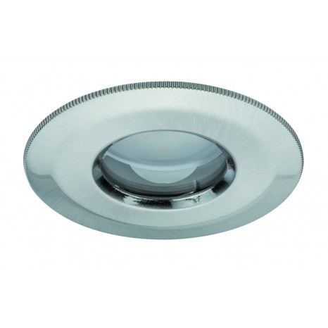 IP65 Coin dimmbar satiniert starr LED 1x7W 230V Eisen