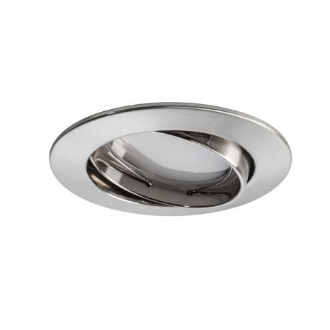 Premium LED Smart Coin Ø 8,3 cm nickel-matt 1-flammig rund