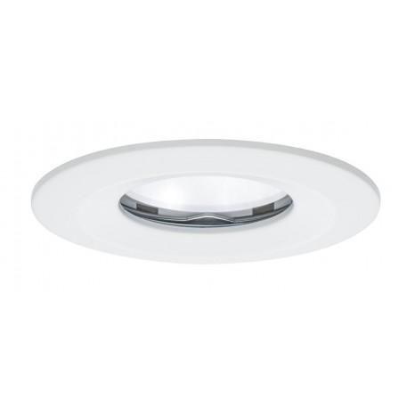 Premium EBL Set Coin Slim, dim rund starr IP65 LED 1x6,8W 230V 51mm Weiß/Alu