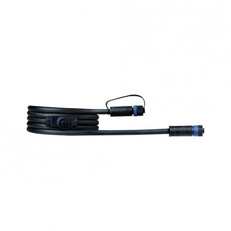 Plug & Shine Cable, IP68, 2m, zwei Anschlussbuchsen